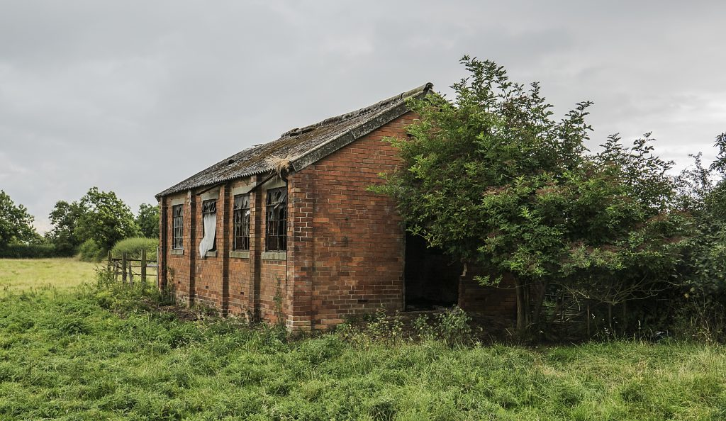 WW2 Searchlight unit building in 2016